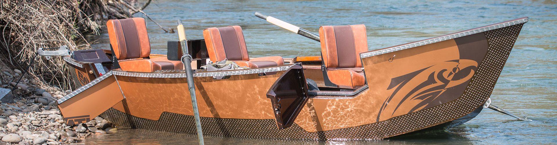 Pavati Marine Aluminum Drift Boats Drift Boat