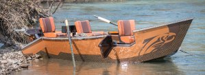 Pavati Marine Aluminum Drift Boats
