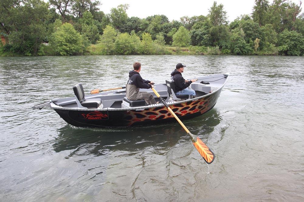 Legacy fly fishing boat pavati marine for Drift boat fishing
