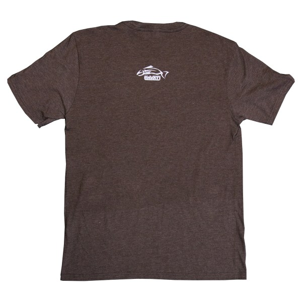 Clothing and Accessories by Pavati Marine - Modern Logo on Brown Ribbon Tee - Back