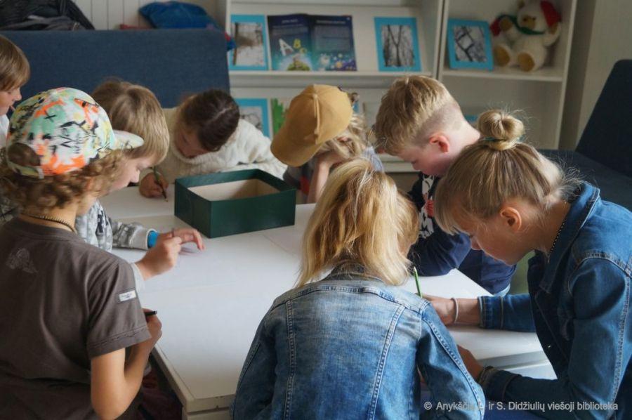 kūrybinis edukacinis užsiėmimas