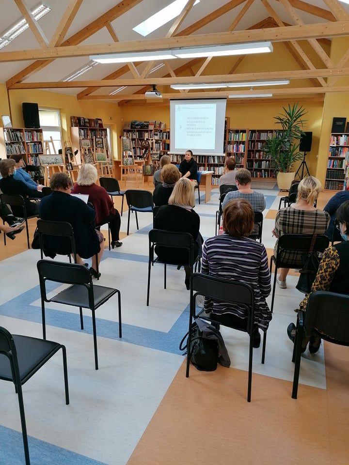 Mokymai Ignalinos rajono savivaldybės viešojoje bibliotekoje