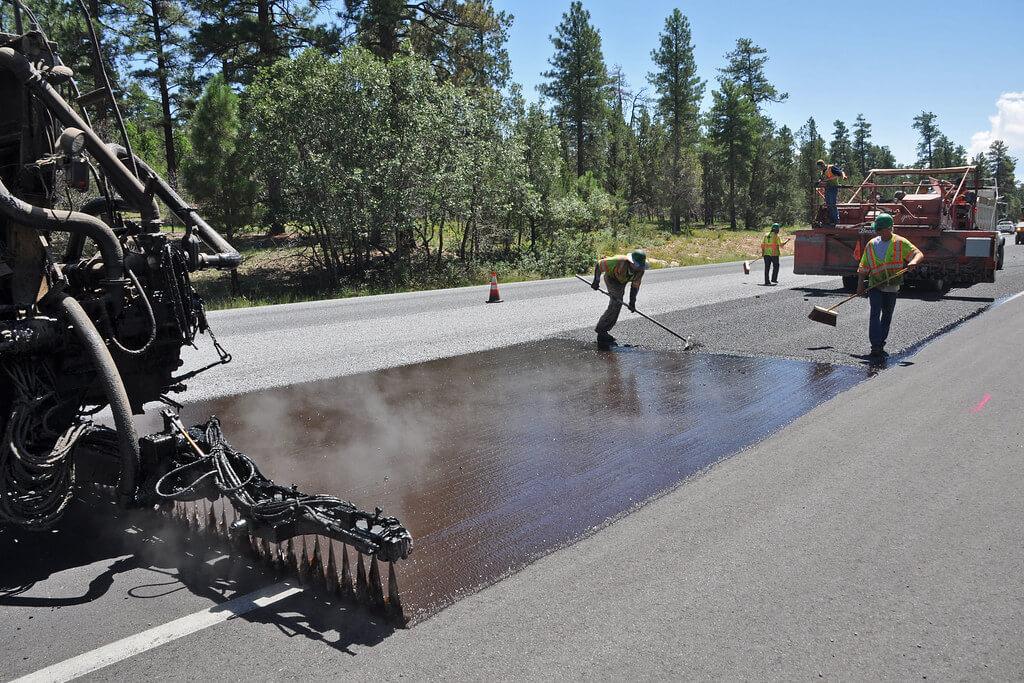 asphalt crack sealer