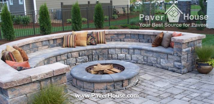 retaining walls paver ideas for your