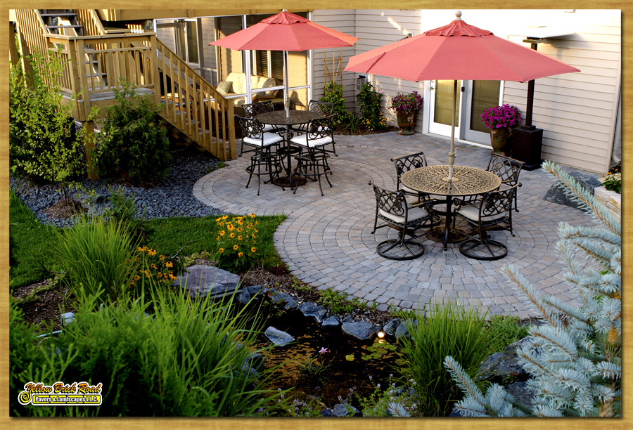 Natural Stone Flagstone Paver Patios Installed Mpls Minnesota