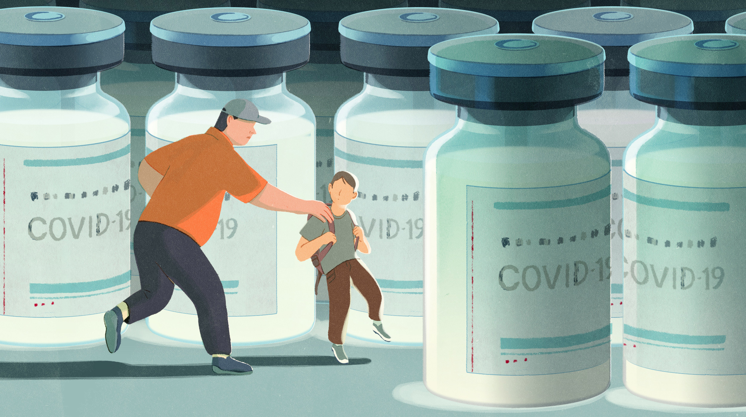 Many parents are hesitant to give their kids a Covid-19 vaccine.