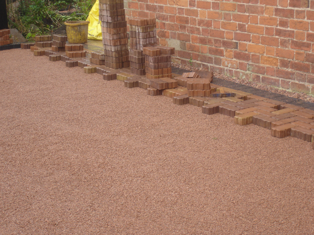 Stonemarkets Permeable Block Paving Laid In A Domestic