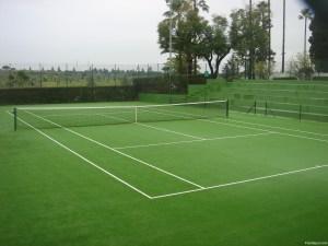 césped tenis