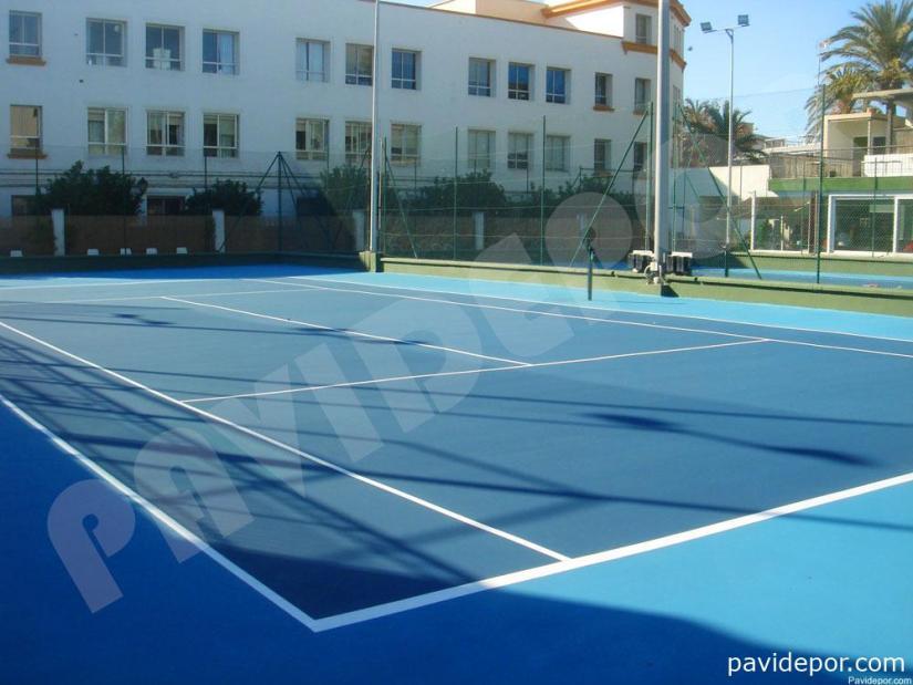 Rehabilitación pistas del Real Tenis Club de Cádiz