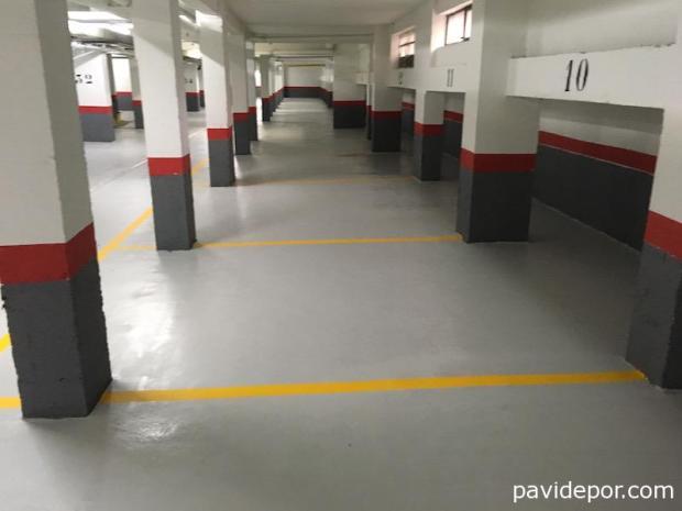 Pavimento garaje Madrid
