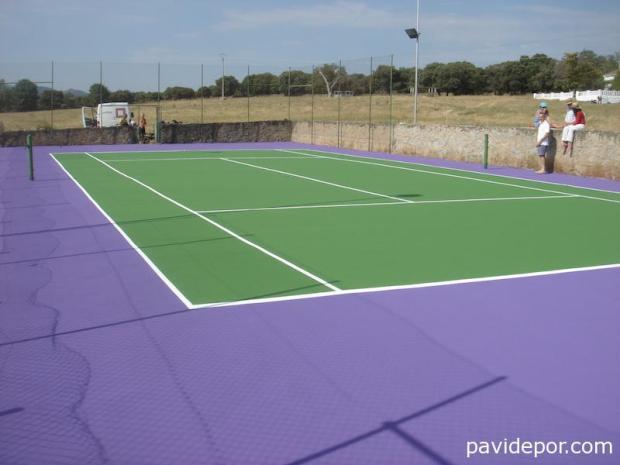 Rehabilitación pista tenis