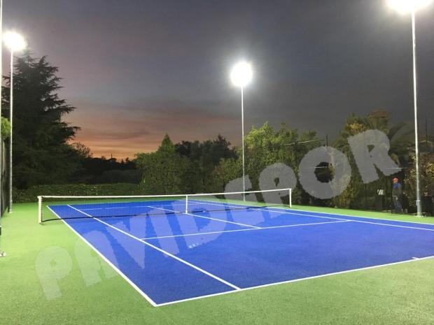 Rehabilitación pista de tenis madrid