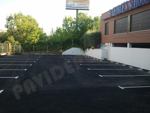 asfalto garaje