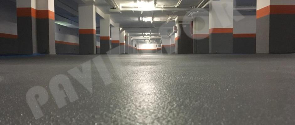 suelo garaje