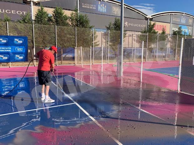 lavado tenis