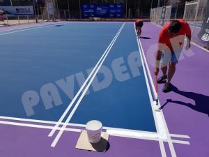 Líneas tenis