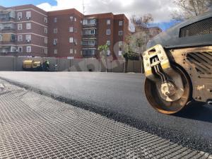 Asfaltado colegio Madrid