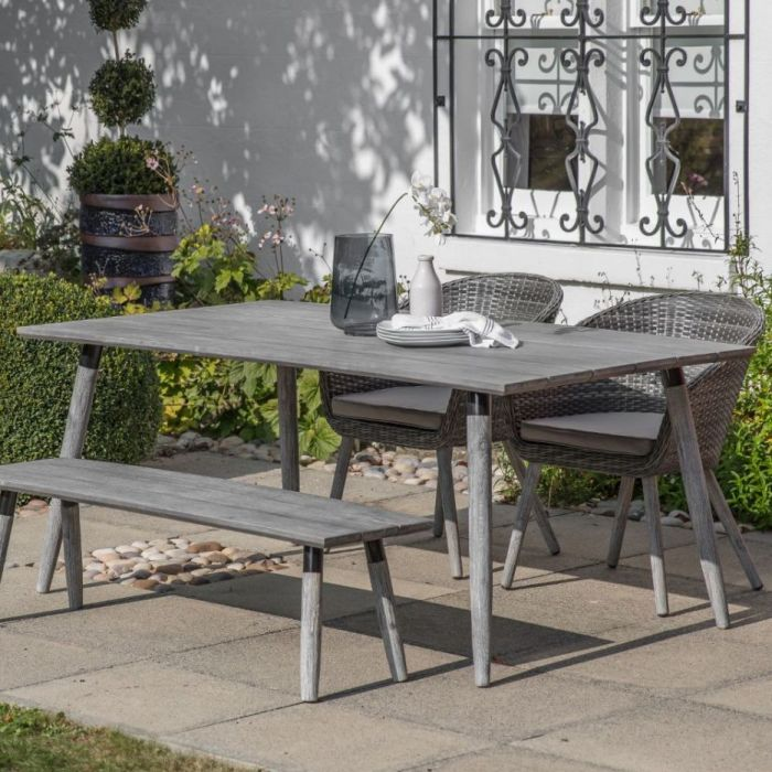 rhodes outdoor dining table