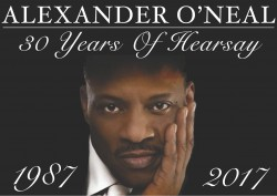 Alexander O'Neal at the Pavilion Theatre, Glasgow