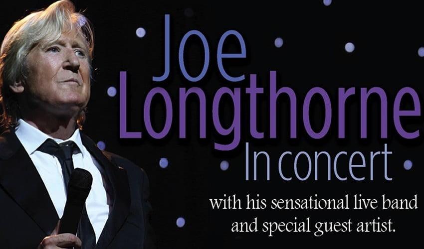 Joe Longthorne in Concert – RESCHEDULED DATE