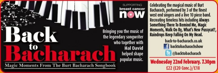 Back To Bacharach - CLICK FOR MORE INFO!