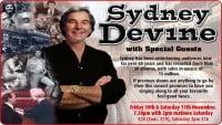 Sydney Devine - CLICK FOR MORE INFO!