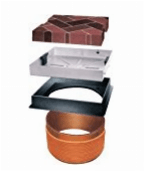 Convertible manhole covers allows you to convert round drains to have a square lid cover