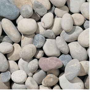 Large landscaping stone chippings and garden pebbles