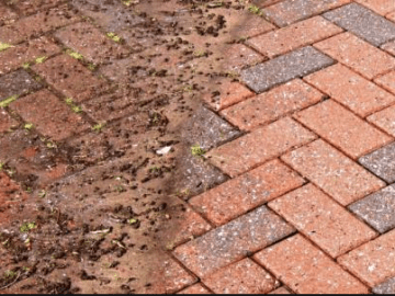 Read our free guide on how to clean block paving without a pressure washer