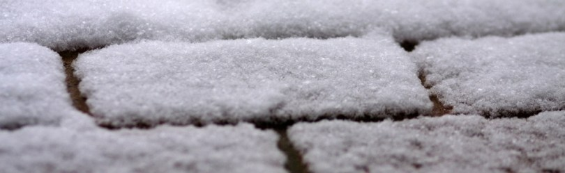 Give your patio or driveway paving a winter clean