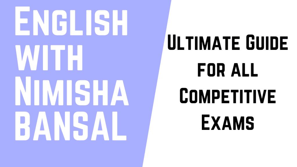 English with Nimisha Bansal PDF