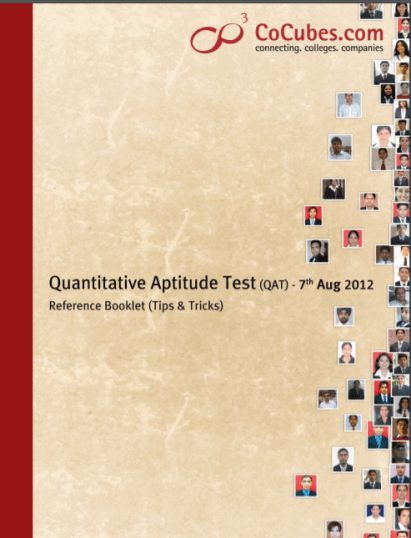 Tips & Tricks for Quantitative Aptitude Book PDF Download