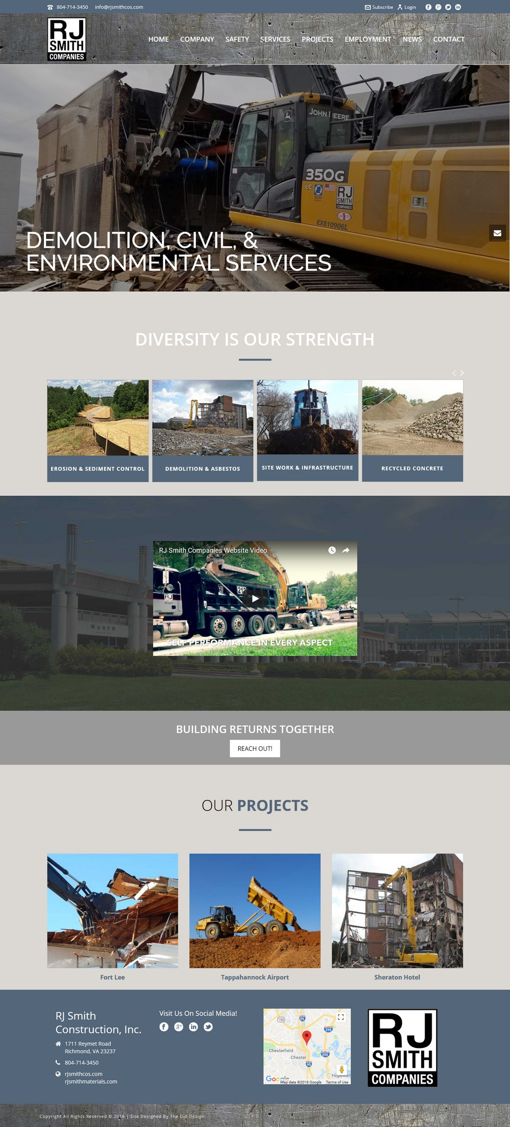 RJ Smith Companies - Successfully Delivered Projects On-Time and On-Budget. Improved Website Conversation Rate By 80% Against Existing Control.