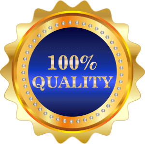 100% Quality & Satisfaction Guaranteed