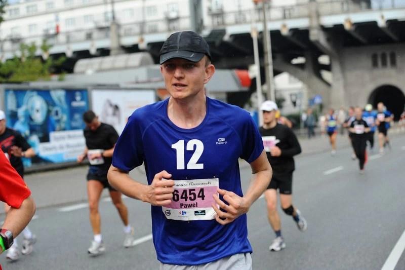 Maraton Warszawski - wisłostrada