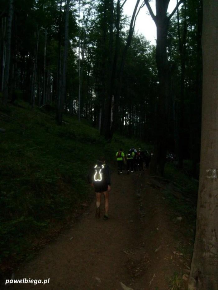 IX Bieg Rzeznika - pierwsze kilometry