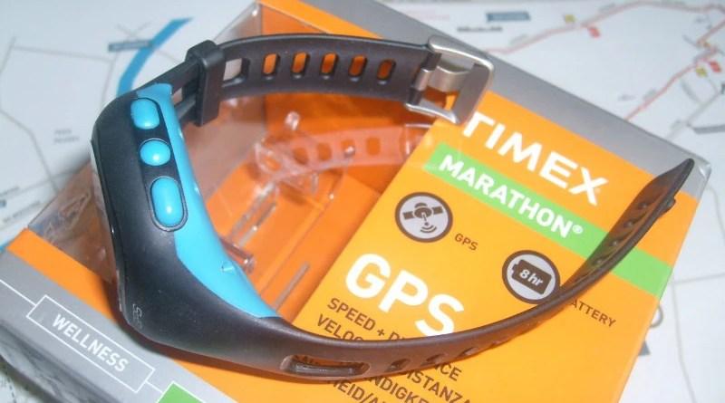 Timex Marathon GPS - z boku