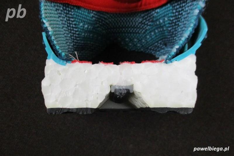 Adidas Ultra Boost - przekrój środek