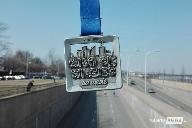 13 Półmaraton Warszawski - medal