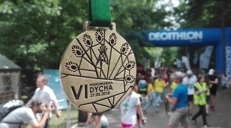 VI Podkowiańska Dycha - medal