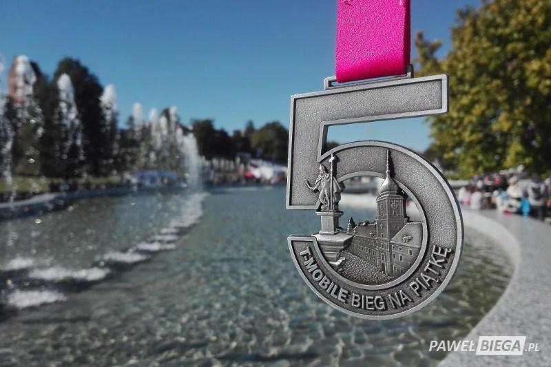 Bieg na piątkę - medal