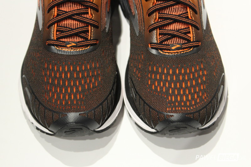 Brooks Adrenaline GTS 18 - toebox