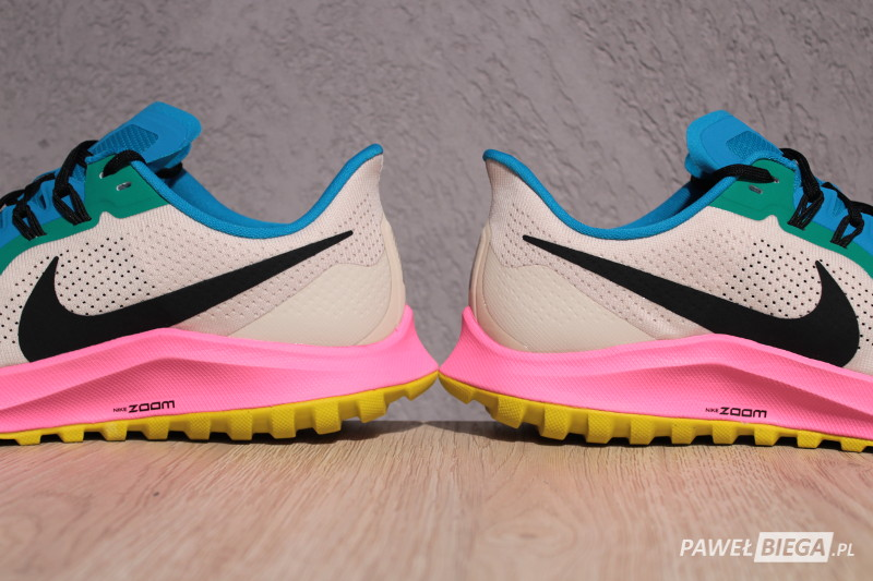 Nike Zoom Pegasus 36 Trail - zapiętek