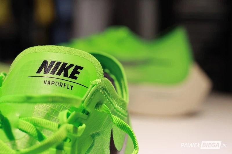 Nike Vaporfly Next - język