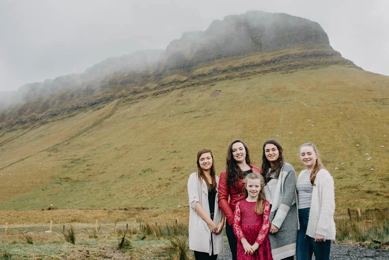 family photography benbulben forest walk sligo-8
