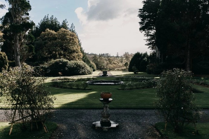 Markree Castle Hotel Garden, Sligo, Ireland