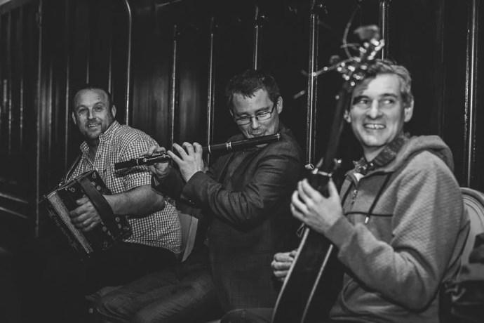 Music band in Markree Castle Hotel Sligo