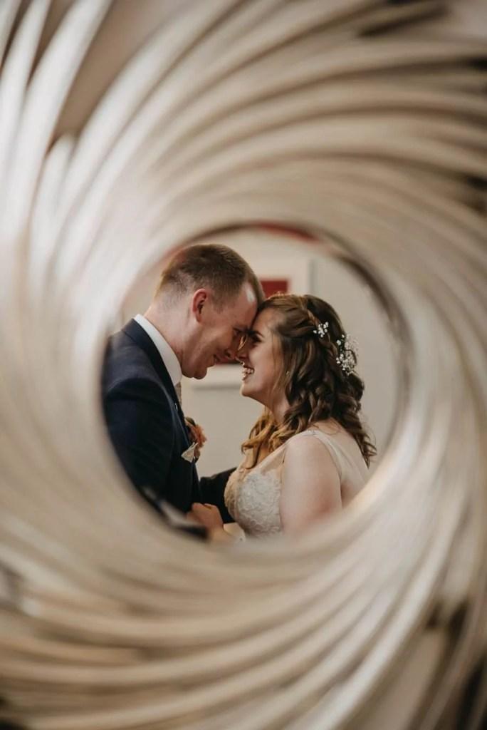 clayton hotel, sligo wedding bride and groom