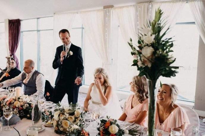 speech in castle dargan wedding