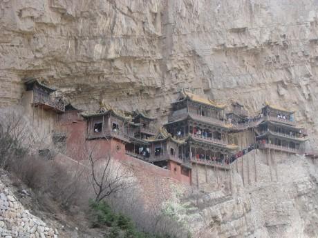 Datong - wiszące klasztory igroty Yungang 3